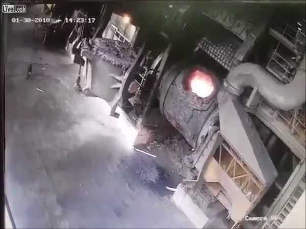 Accident At Steel Factory