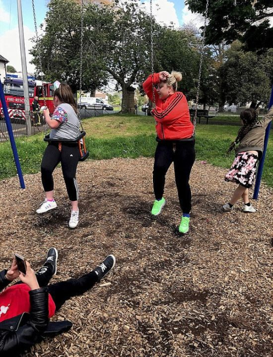 Stuck On Playgrounds (13 pics)