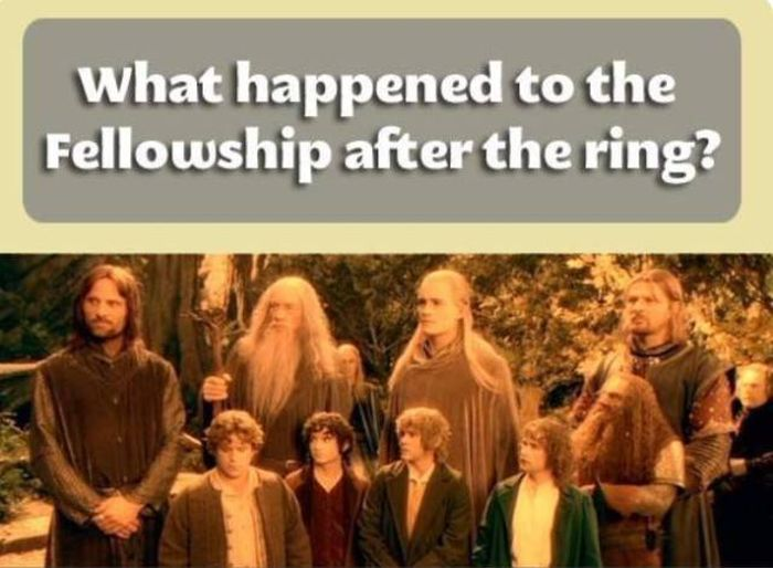 What Happened To The Fellowship After The Ring (11 pics)
