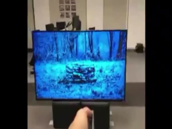 Guy Used Augmented Reality To Recreate 'The Ring' In Real Life