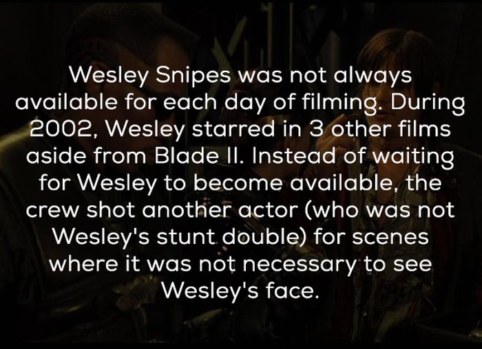 Blade II Facts (20 pics)
