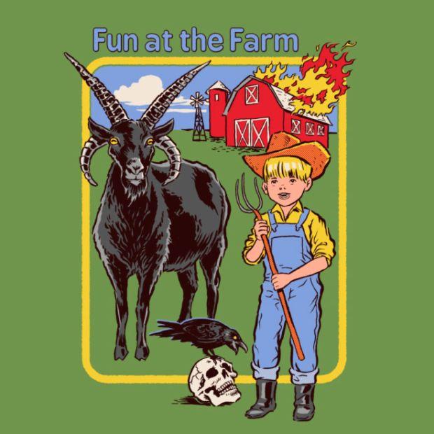 Dark Humor Retro Illustrations by Steven Rhodes (18 pics)