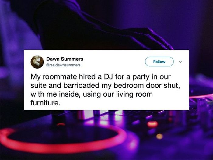 The Worst Roommate Horror Stories (19 pics)
