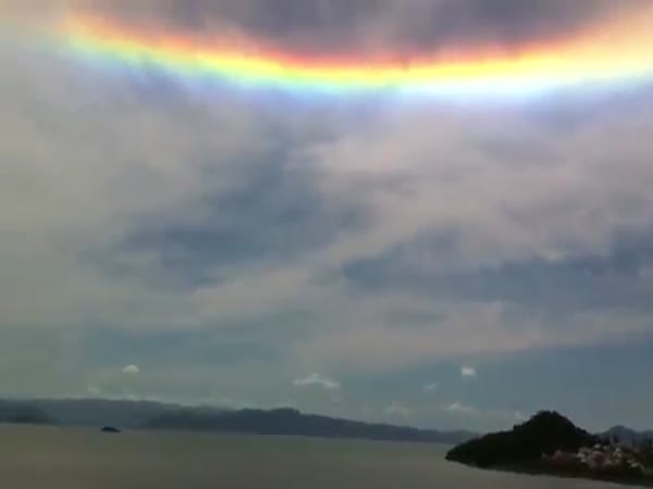 Solar Halo Spotted in Brazil