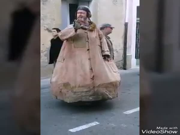 Amazing Street Performer Costume