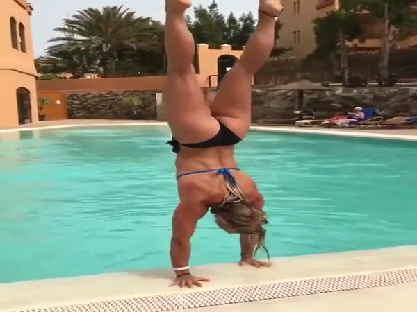 Can You Exit A Pool Better Than That?