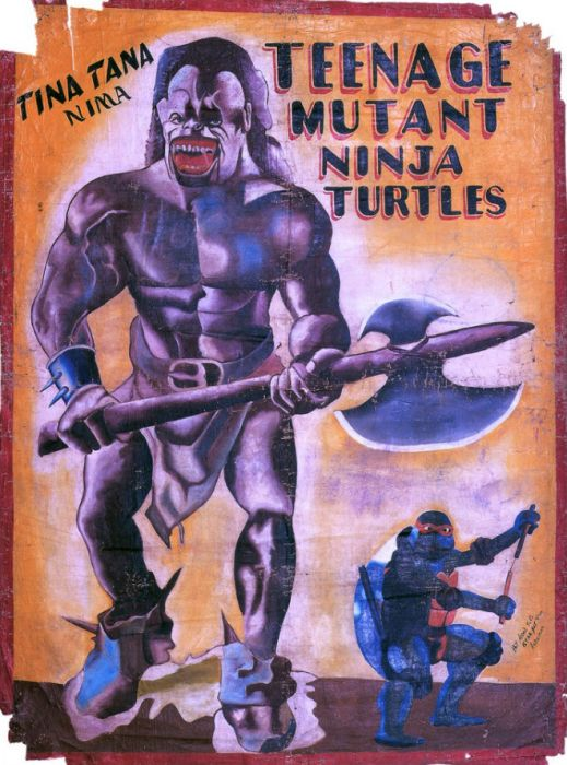 hand painted movie posters from africa 19 pics