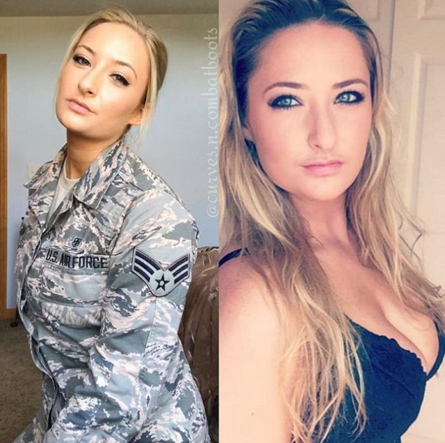 Army Girls (18 pics)