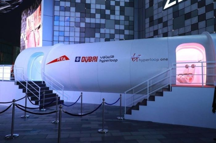 Hyperloop Prototype Makes Global Debut In Dubai (5 pics)