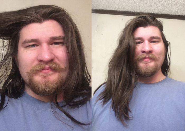 This Guy Looks Much Different After He Lost Weight (2 pics)