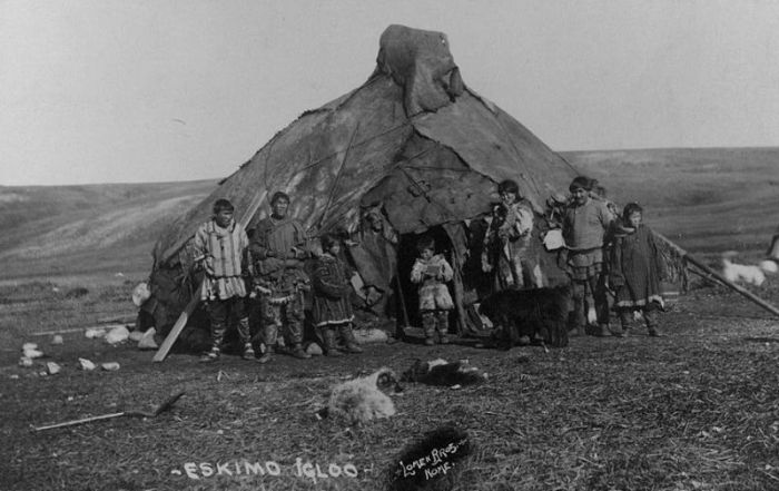 How The Eskimos Of Alaska Lived During The Time Of The Gold Rush (35 pics)