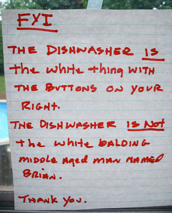 Passive Aggression Notes From Roommates (32 Pics