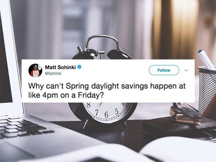Jokes About Daylight Saving (15 pics)
