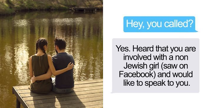 What Happens When Your Religious Aunt Finds Out You're Dating A Non-Jewish Girl (14 pics)