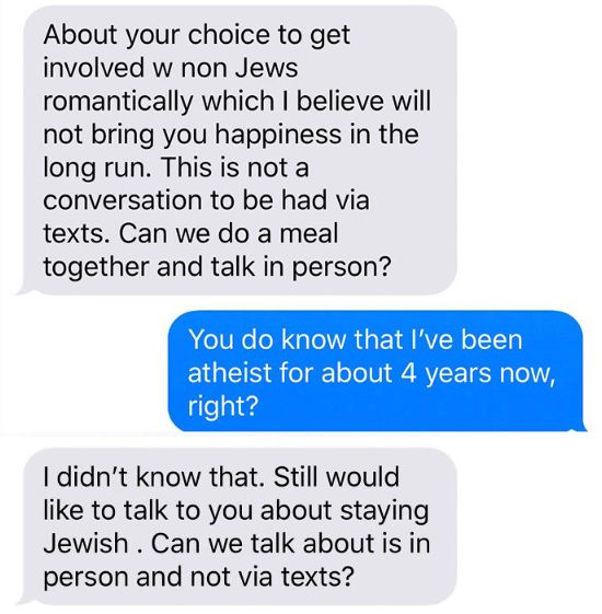 non jewish girl dating jewish guy Jewish guys dating non-jewish girls  i know several jewish guys dating nonjewish girls and i'm a jewish girl who has never dated a jewish guy.