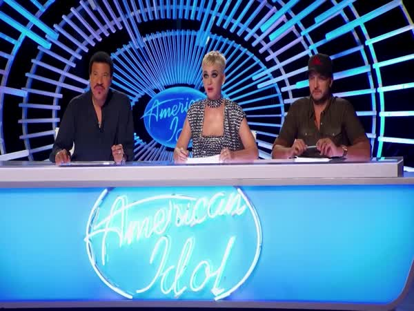 Katy Perry Gives Singer His First Kiss Ever On American Idol