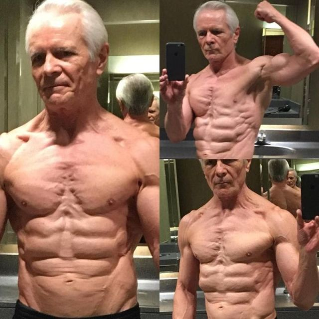 68-Year-Old Man With A Six-Pack (6 Pics
