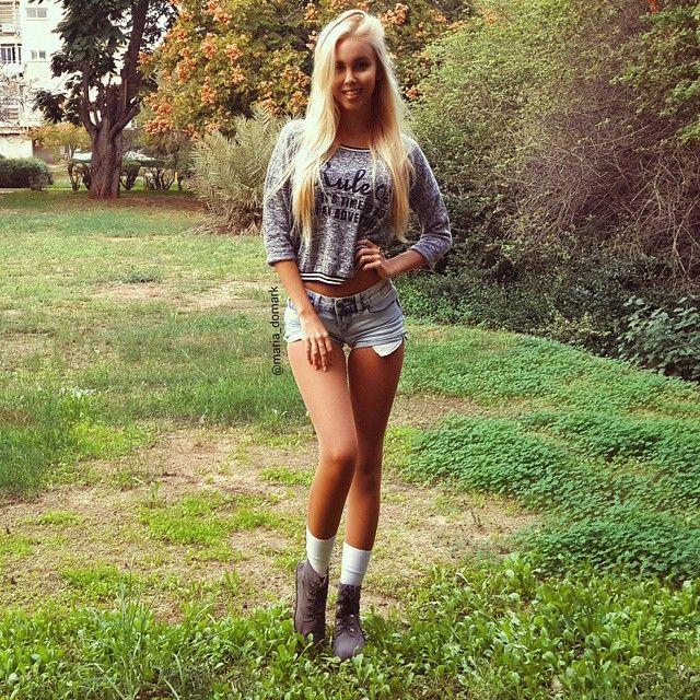 Cute Israeli Army Girl Maria Domark (23 pics)