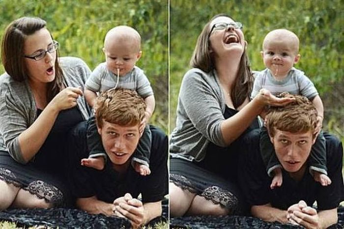 Funny Family Photos (26 pics)