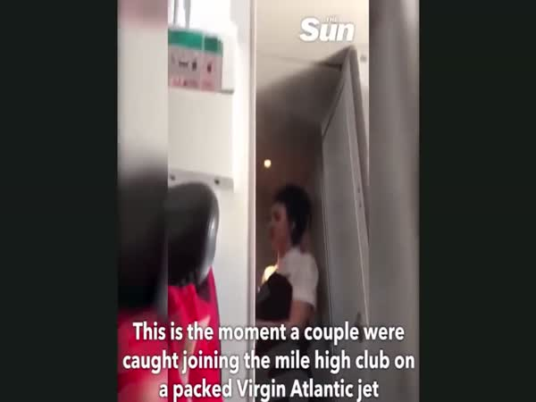Couple Who Met on Virgin Atlantic Plane Caught in Mile High Club Sex Act in Toilet