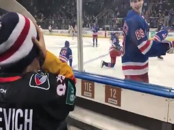 Pavel Buchnevich Makes a Fan's Day