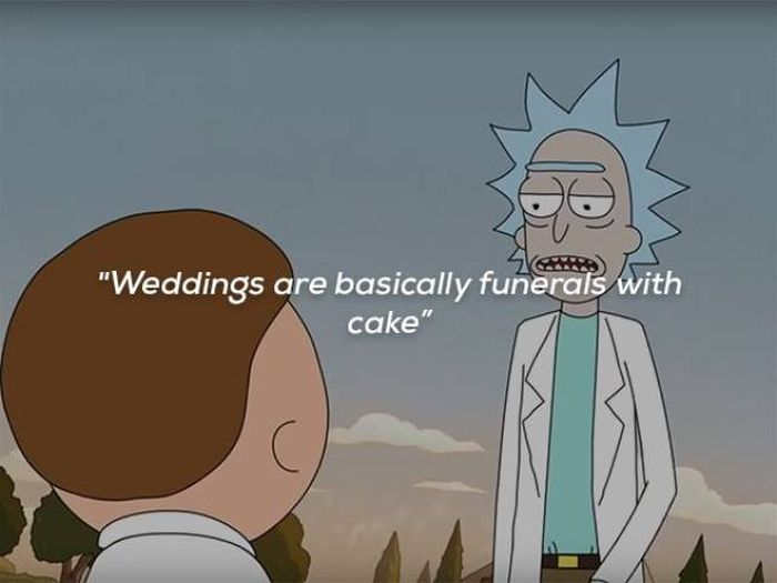 Rick Sanchez Is Full Of Life Wisdom (14 pics)