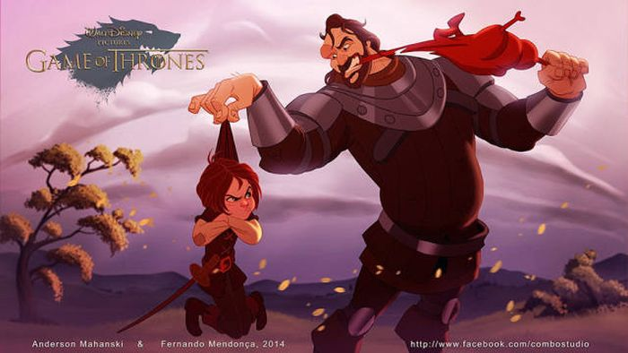 """What If """"Game Of Thrones"""" Was Produced By Disney (11 pics)"""