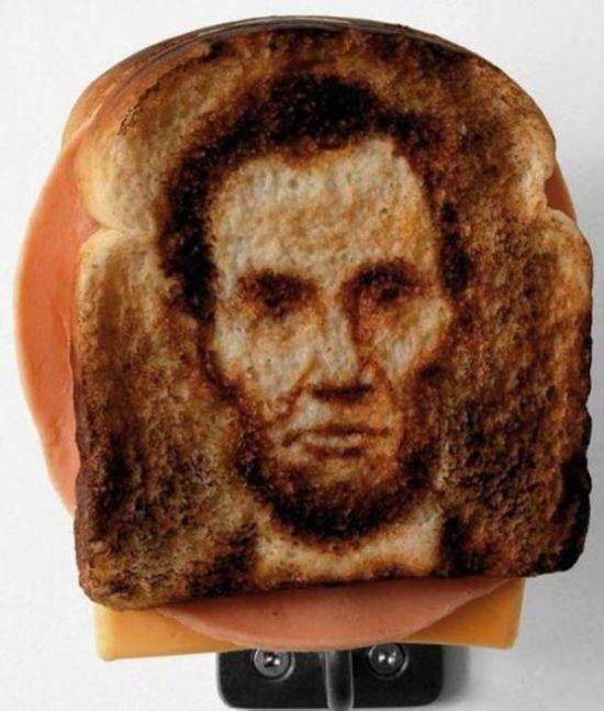 Toast Art (21 pics)