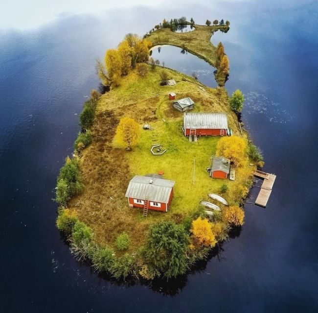 Four Seasons At The Island of Kotisaari, Finland (4 pics)