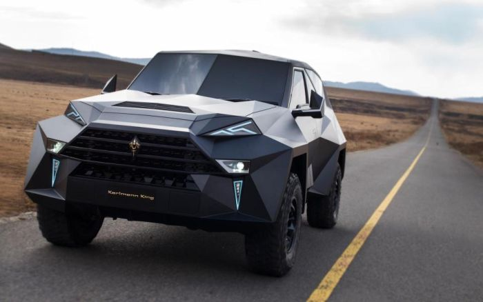 The World's Most Expensive SUV Karlmann King Is Worth $2,1million (8 pics)