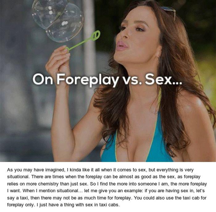 Lisa Ann About Sex (9 pics)
