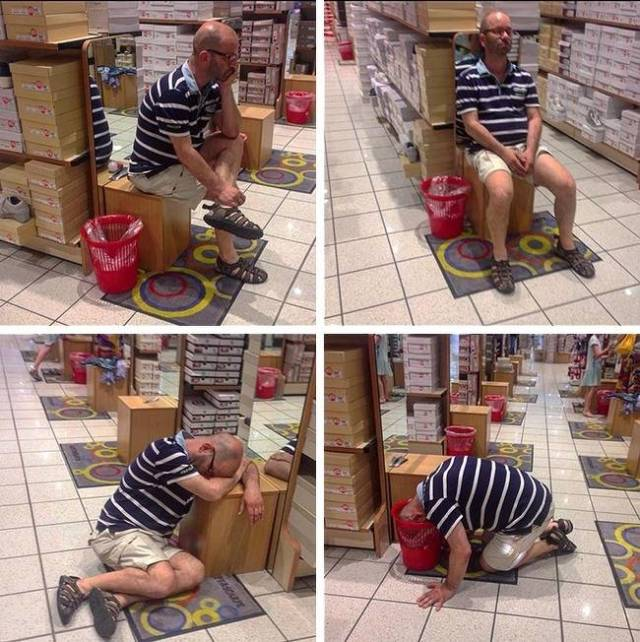Men Hate Shopping (29 pics)