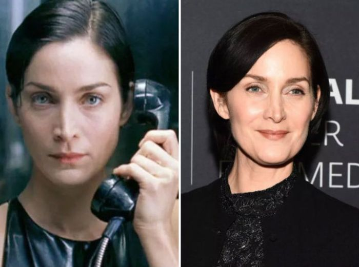 The Matrix Cast 19 Years Later (13 pics)