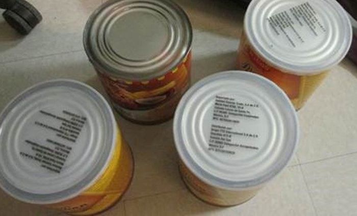 Border Patrol Seizes Nearly $1M Worth Of Meth Hidden In Canned Cheese Containers (3 pics)