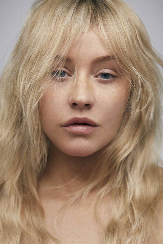 Christina Aguilera Without Makeup 6 Pics-6667