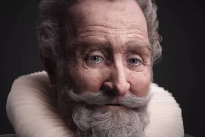 Real Faces Of Famous Historical Figures Recreated In CGI (14 pics)