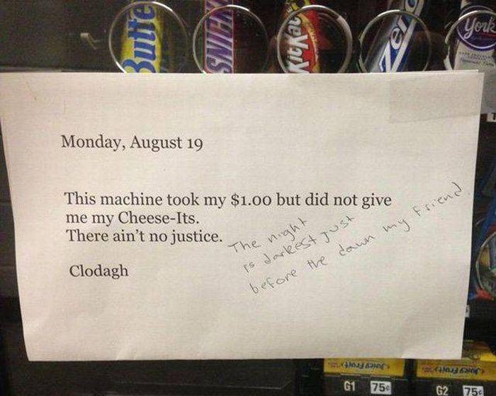 Vending Machine Fails (28 pics)