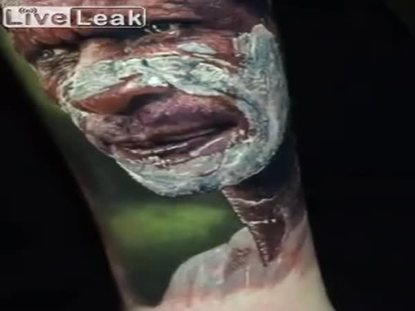 Incredible Indian Portrait Tattoo