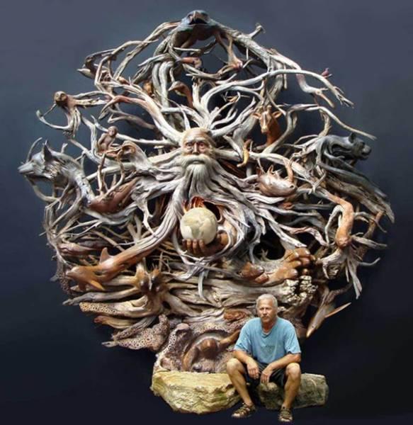 Wooden Sculptures (39 pics)