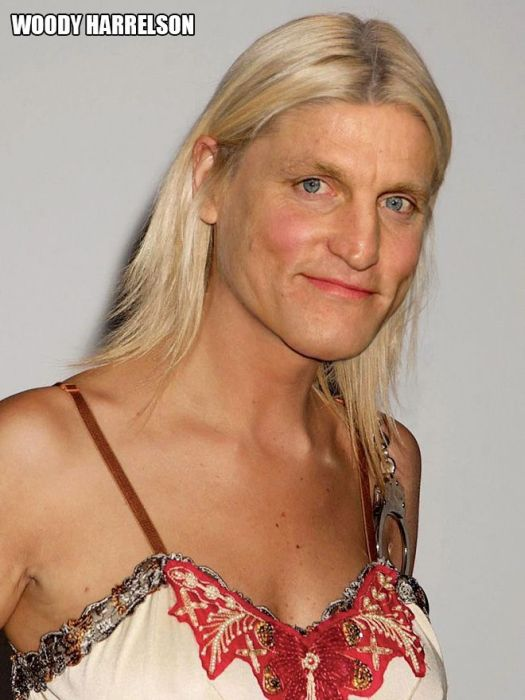 What Male Celebrities Would Look Like If They Were Female (20 pics)