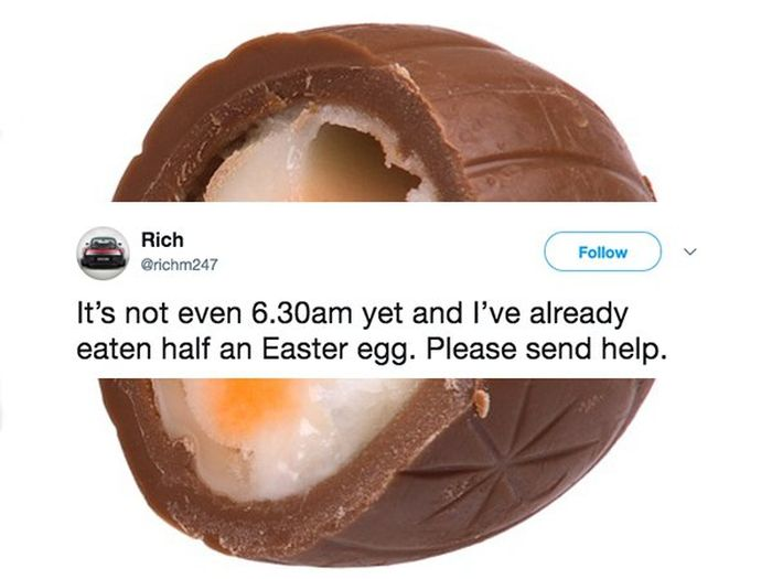 Funny Tweets About Easter (25 pics)