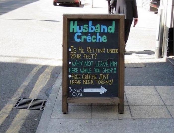 Funny Chalkboards (22 pics)