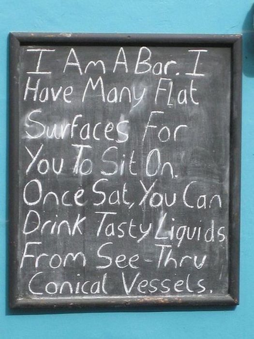 Funny Chalkboards (22 pics)