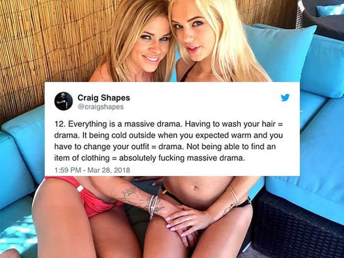 Guy Who Lives With Two Girls Shares The Story (18 pics)