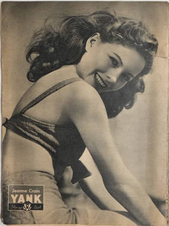 Vintage Pin Up Girls Inspired The US Army During World War II (19 pics)