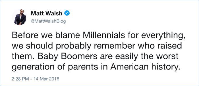 Millennials vs. Baby Boomers (20 pics)