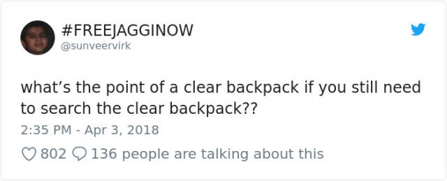 Parkland Students Are Now Forced To Use Transparent Backpacks (31 pics)