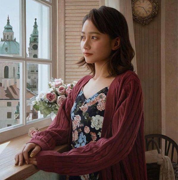 Paintings By Yasutomo Oka (14 pics)