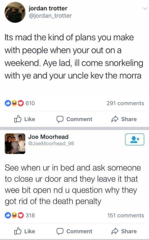 Scottish Tweets (12 pics)