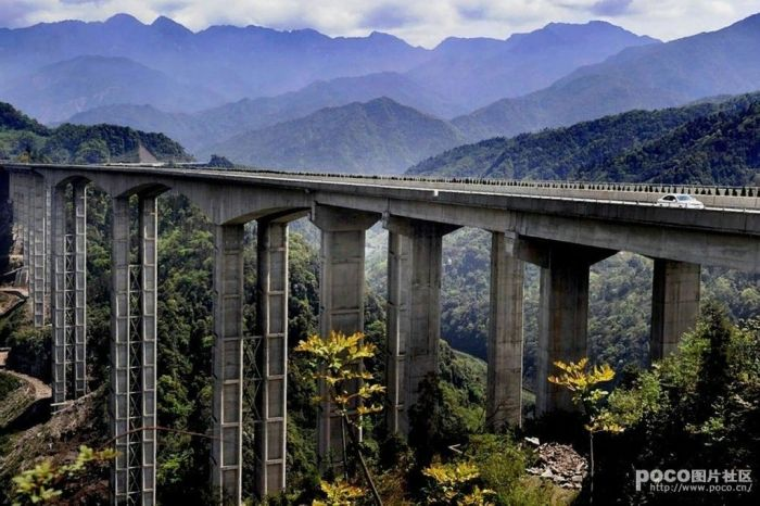 Expressways of China (7 pics)